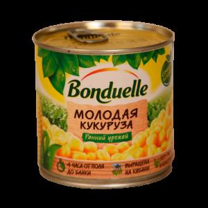 """Кукуруза """"Бондюэль"""" молодая 170гр"""