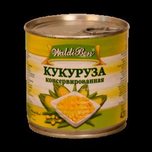 """Кукуруза """"Валдибен"""" 400г ж/б"""