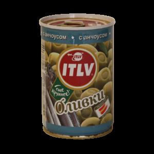 """Оливки """"ITLV"""" с анчоусом"""