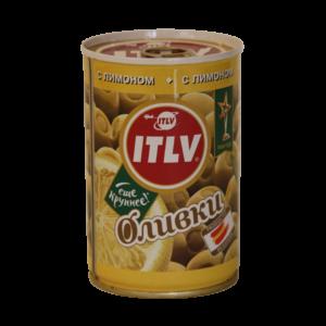 """Оливки """"ITLV"""" с лимоном"""