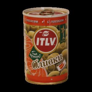 """Оливки """"ITLV"""" с лососем"""