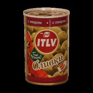 """Оливки """"ITLV"""" с омаром"""