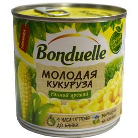 """Кукуруза """"Бондюэль"""" молодая 340гр"""