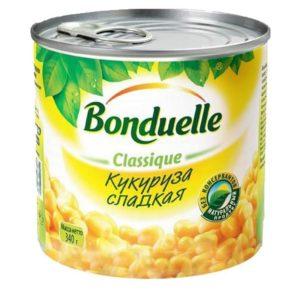 """Кукуруза """"Бондюэль"""" 340гр"""