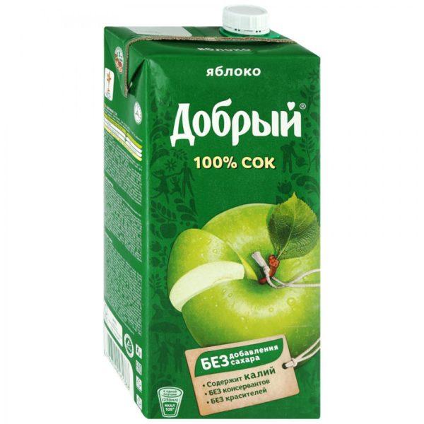 Добрый 2л Яблоко сок
