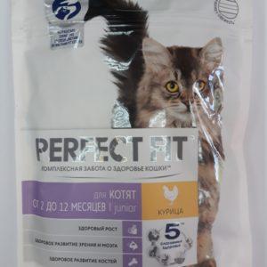 ПерфектФит д/домашних кошек Курица 190г