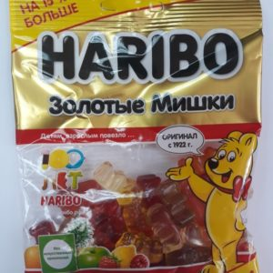 "Жевательный мармелад ""Haribo"" Золотые мишки 80г"