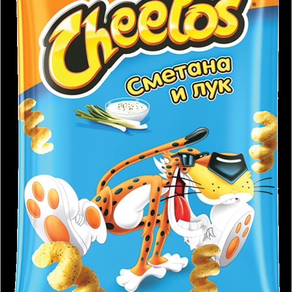"Кукурузные палочки ""Читос"" Сметана и лук 55г"