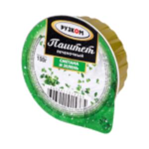 """Паштет """"Рузком"""" печеночный Сметана, зелень"""
