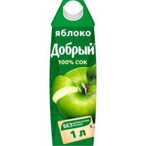 Добрый 1л Яблоко сок