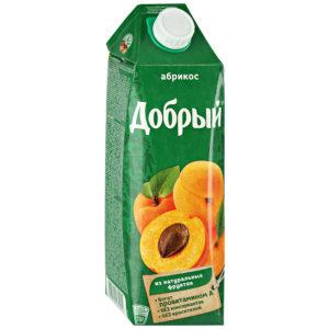 Добрый 1л Абрикос сок