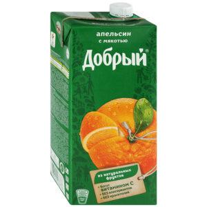 Добрый 2л Апельсин нектар