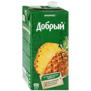 Добрый 2л Ананас сок