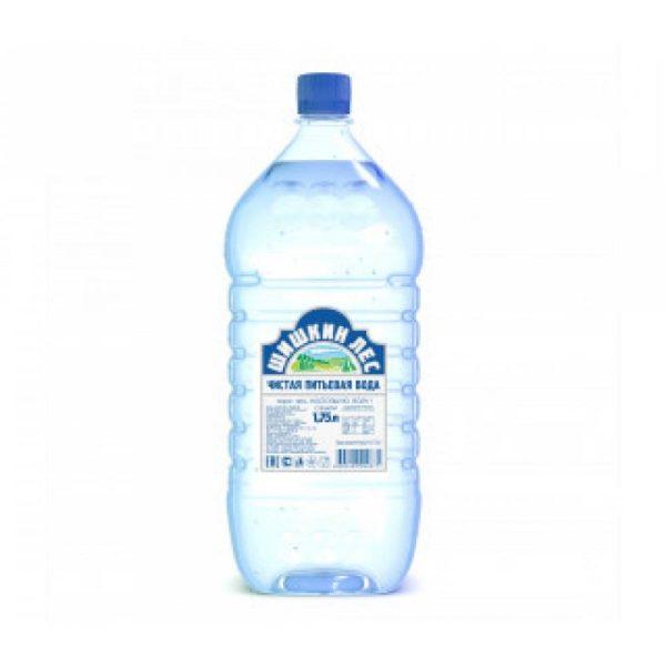 "Вода питьевая ""Шишкин лес"" н/газ 1,75л"