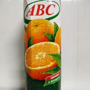 ABC сок апельсин 1л
