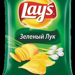 Чипсы Лэйз зеленый лук 90г