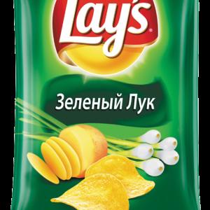 Чипсы Лэйз зеленый лук 150г