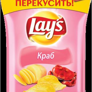 Чипсы Лэйз краб 40г