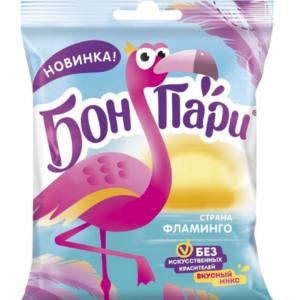 """Жевательный мармелад """"БОН ПАРИ"""" Страна фламинго 100г"""