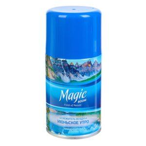 """Освежитель воздуха """"Magic"""" Июньское утро 250мл см.баллон"""