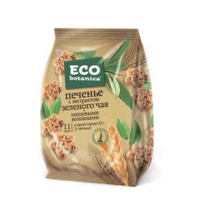"""Печенье """"ECO""""  с зеленым чаем 200г"""