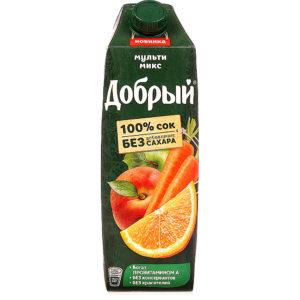Добрый 1л Мультимикс сок