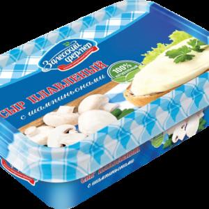 """Плавл.сыр """"Сливочный"""" грибы 60% 150г Залесье"""