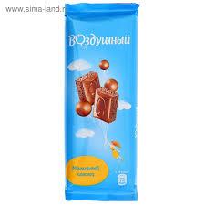 "Шоколад ""Воздушный"" молочный 85г"