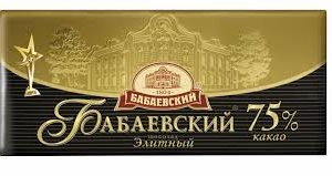"""Шоколад """"Бабаевский"""" Элитный 100г"""
