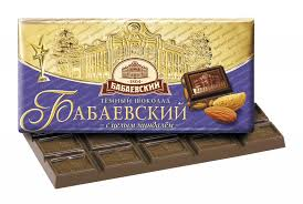 """Шоколад """"Бабаевский"""" с миндалём 100г"""