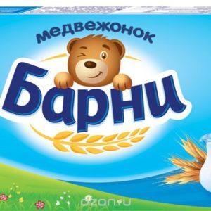 """Пирожное """"Медвежонок Барни"""" Молоко 150г"""