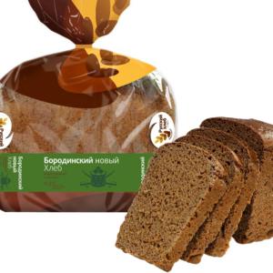 Хлеб Бородинский 400г Русский хлеб