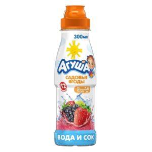 Агуша Вода и сок Садовые ягоды 300мл