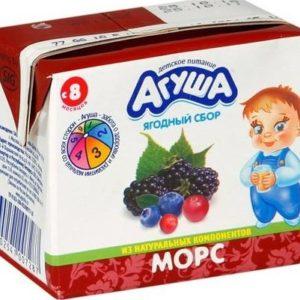 Агуша Морс Ягодный сбор 0,2л т/п