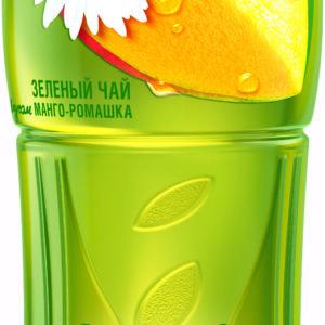 Холодный чай зеленый манго-ромашка 1л Фьюз