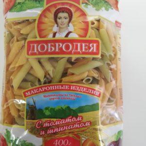 """Мак.изделия """"Добродея"""" Перья овощные 400г"""