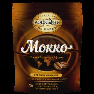 """Кофе """"Кофейня на паяхъ"""" Мокко раств.75"""