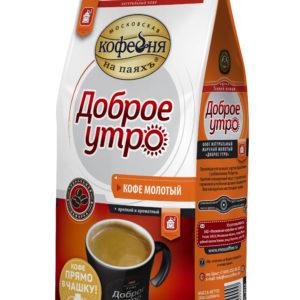 """Кофе """"Кофейня на паяхъ""""Доброе утро мол.200г"""