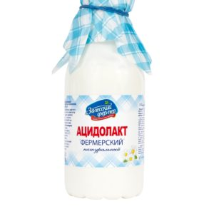 Ацидолакт 3,5% 450г бутылка Залесский фермер БЗМЖ