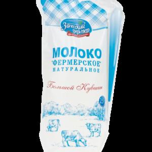 Молоко 2,5% 1250г кувшин Залесский фермер БЗМЖ