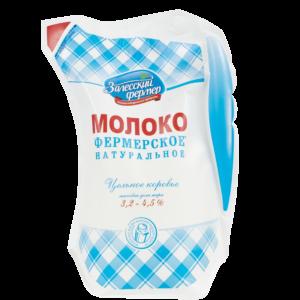 Молоко 3,2-4,5% 850г кувшин Залесский фермер БЗМЖ