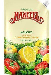 """Майонез """"Махеев"""" с лимонным соком 380г."""