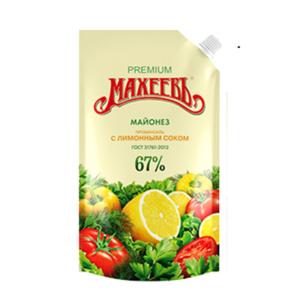 "Майонез ""Махеев"" с лимонным соком 190гр."