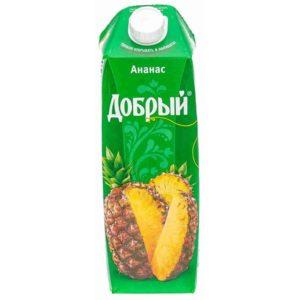 Добрый 1л Ананас сок