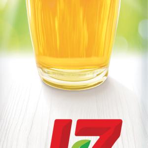 J7 Яблоко осветленный сок 0,97л