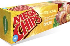 Чипсы Мега чипсы 100г бекон