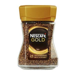 """Кофе """"Нескафе Голд"""" 47,5г ст."""