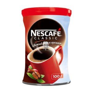 """Кофе """"Нескафе Классик"""" 100г ж/б"""