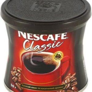 """Кофе """"Нескафе Классик"""" 50г ж/б"""