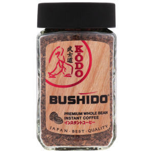 """Кофе """"Bushido"""" KODO ст/б 95г"""